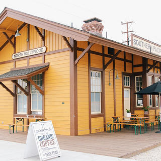 North Hollywood Train Depot