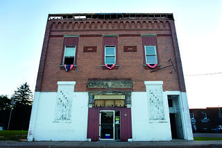 Plainfield Opera House in Plainfield, Wisconsin