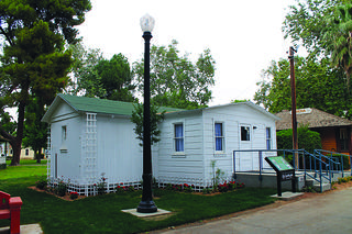 Merle Haggard House at the Kern County Museum in Bakersfield, California