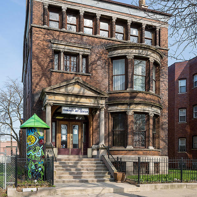 South Side Community Art Center Gets a Facelift Through Hands-On Preservation | South Side Community Art Center | National Trust for Historic Preservation