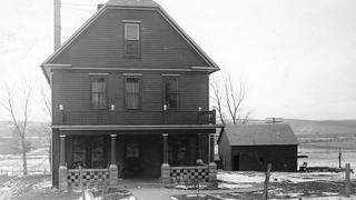 Picotte's  home in Walthill, Massachusetts.