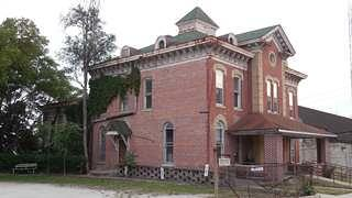 The old county jail was saved by Indiana Landmarks in 2017.