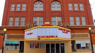 The Eagles Theater is a beloved local icon.