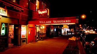 The exterior of Village Vanguard.