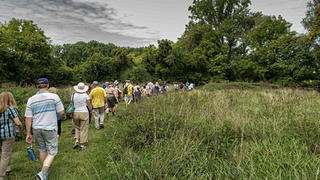 """Montpelier's """"We the People"""" walking trail."""