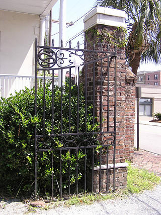A gate designed by Philip Simmons.