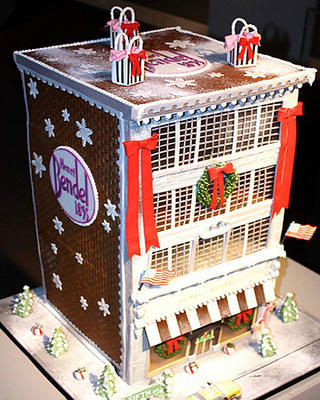 The Bendel Store in gingerbread by Sweet Lisa's.