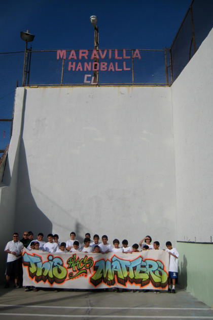 East Los Angeles Handball Court Links Community To The Past National Trust For Historic Preservation