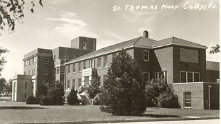 An undated historic photo of St. Thomas Hospital.