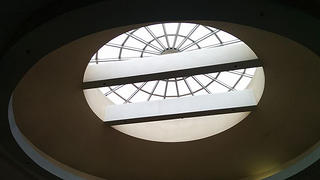 A skylight at Northland Center.