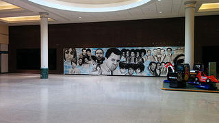 A mural at Northland Center.