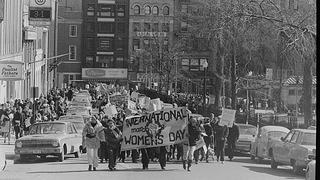 Photo of International Women's Day, 1971.