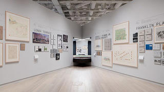 """Lenox Terrace, Jesse Fisher Jr., and Franklin Plaza housing projects on exhibit at """"Living In America."""""""