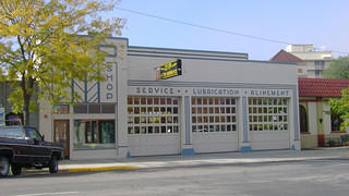 The north exterior of Zip Auto.