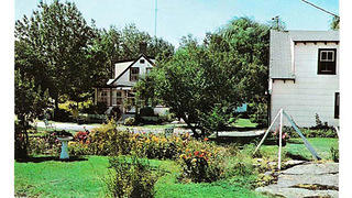 A postcard of Rock Rest in 1959.