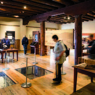 The Santa Fe Found Gallery at the Palace of the Governors.