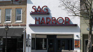 Sag Harbor movie theater.