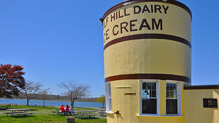 Gulf Hill Dairy Bucket in South Dartmouth, Massachusetts.