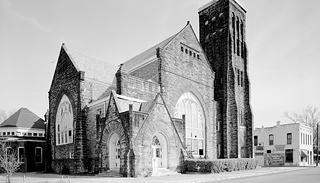 Clayborn Temple, Memphis, Tennessee (historic photo)