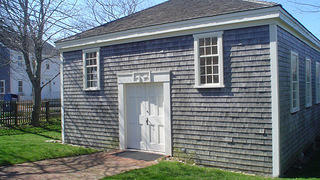 African Meeting House (Nantucket) in the spring