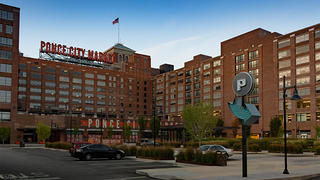 Ponce City Market opened in 2014 in the historic Sears warehouse building.