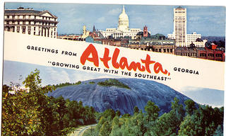 A historic Atlanta postcard.