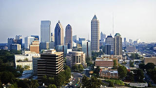 A view of Atlanta's skyline.