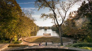 Piedmont Park connects Midtown and Virginia Highland and is listed on the National Register.