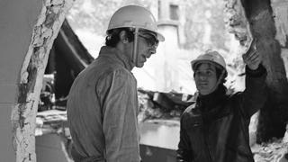 Gordon Matta-Clark with Gerry Hovagimyan
