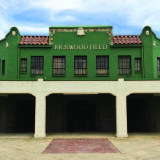 The entrance to Rickwood Field.