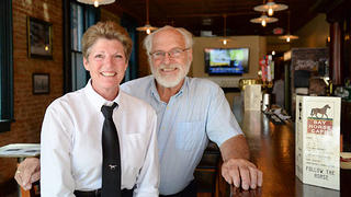 Owners Fred and Lori.