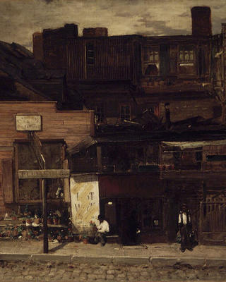 Old New York by Louis Comfort Tiffany.