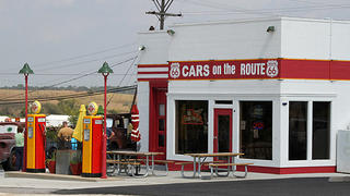 The exterior of Cars on the Route.