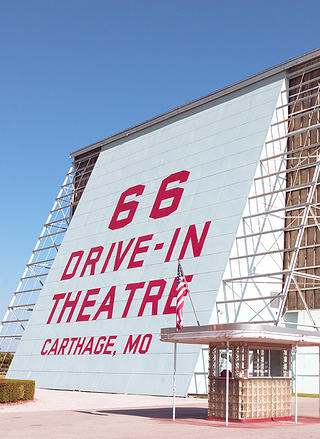 66 Drive-In Theater in Carthage, Missouri