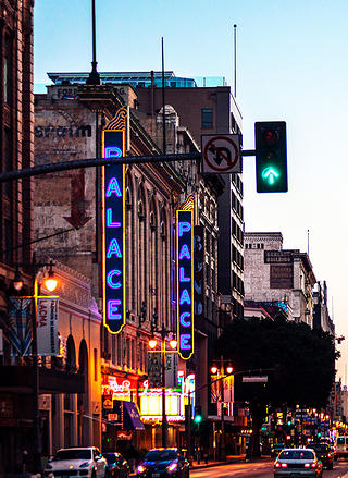 Broadway Theater in Los Angeles, California