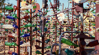 Elmer's Bottle Tree Ranch in Oro Grande, California