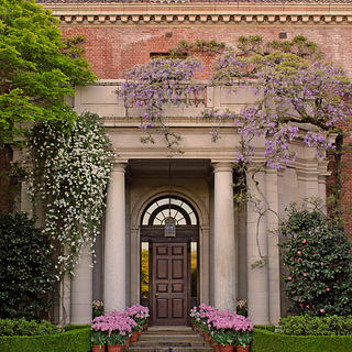 Exterior of Filoli in California.