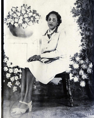 Alberta Ellis poses for photo in Springfield, Missouri.