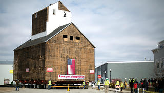 The granary on the move.