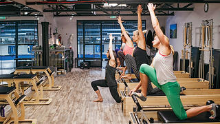 The market place has a pilates studio for fitness enthusiasts. Photo credit: Benjamin Rasmussen