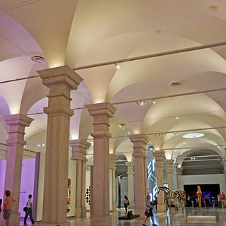Interior of the Lincoln Gallery at the National Gallery of Art