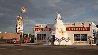 Tee Pee Curios store in Tucumcari, New Mexico, by Route 66.