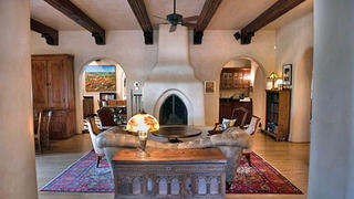 Circa 1870 restored and updated Adobe home for sale in Taos, New Mexico