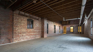 Kress Building exposed bricks