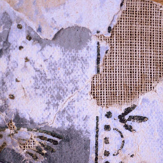 This close-up shot of the wallpaper in a structure at Bodie shows at least three different iterations.