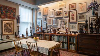 Third Floor Dining Room of The Renee and Chaim Gross Foundation townhouse