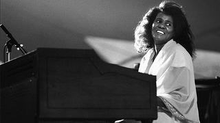 Alice Coltrane performs live on stage at the North Sea Jazz Festival in the Hague, the Netherlandsm on July 12, 1987.