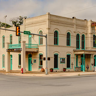 The Armstrong Hotel in Hondo, Texas.