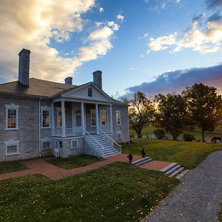 Belle Grove at dawn