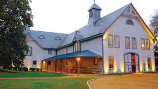 Belle Meade Plantation's stable and carriage house is now used for events.